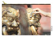 Touch Of Good Fortune Carry-all Pouch by Carol Groenen