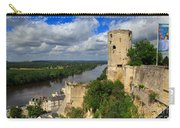 Tour Du Moulin And The Loire River Carry-all Pouch