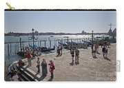 Tourists In Venice Carry-all Pouch