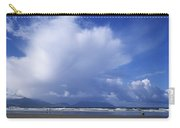 Tourists On The Beach, Inch Beach Carry-all Pouch