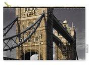 Tower Bridge Carry-all Pouch by David Pyatt