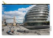 Tower Bridge With City Hall Carry-all Pouch