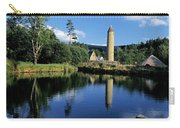 Tower Near A Lake, Round Tower, Ulster Carry-all Pouch