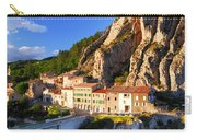 Town Of Sisteron In Provence France Carry-all Pouch