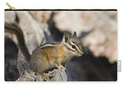Townsends Chipmunk Eutamias Townsendii Carry-all Pouch