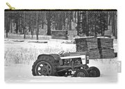 Tractor At The Mill  Carry-all Pouch