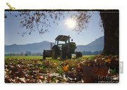 Tractor In Backlight Carry-all Pouch