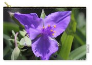 Tradescantia Named Andersonia Mauve Carry-all Pouch