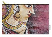 Traditional Painting On A Wall Jodhpur Carry-all Pouch
