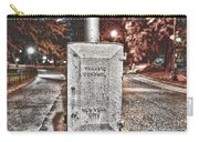 Traffic Control Box Carry-all Pouch by Paul Ward