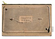 Traffic Signal  Carry-all Pouch