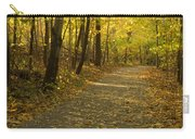Trail Scene Autumn Abstract 1 Carry-all Pouch