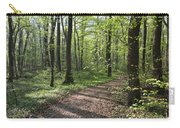 Trail Through Spring Forest Bavaria Carry-all Pouch