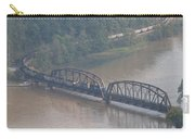 Train Along New River 3 Carry-all Pouch