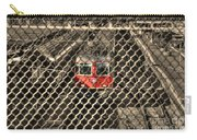 Train Behind A Fence Carry-all Pouch