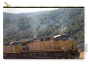 Train In Spanish Fork Canyon Carry-all Pouch
