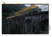 Train Lights Carry-all Pouch