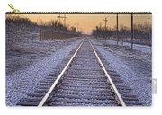 Train Tracks And Color 2 Carry-all Pouch