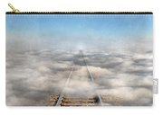 Train Tracks Into The Clouds Carry-all Pouch