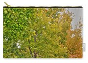 Transition Of Autumn Color Carry-all Pouch