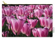 A Field Of Translucent Tulips Carry-all Pouch