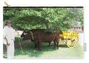 Transportation. Colonial Williamsburg. Virginia Carry-all Pouch