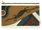 Traveling Goanna Carry-all Pouch by Pat Saunders-White