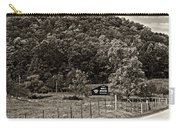 Treat Yourself Sepia Carry-all Pouch by Steve Harrington