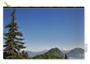 Tree And A Panoramic View Carry-all Pouch