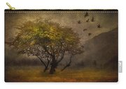 Tree And Birds Carry-all Pouch by Svetlana Sewell