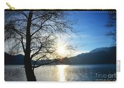 Tree And Lake Carry-all Pouch