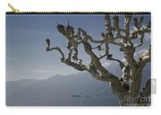 Tree And Mountain Carry-all Pouch