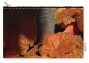 Tree And Pumpkin-like Leaves Carry-all Pouch