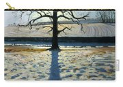 Tree And Shadow Calke Abbey Derbyshire Carry-all Pouch by Andrew Macara
