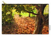 Tree And Shadows Carry-all Pouch