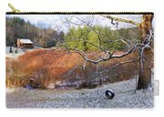 Tree And Tire Swing In Winter Carry-all Pouch