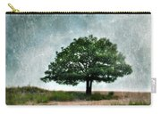 Tree And Wildflowers  Carry-all Pouch