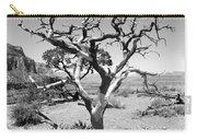 Tree At Cedar Ridge Bw Carry-all Pouch