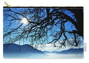 Tree Branches And Sun Carry-all Pouch