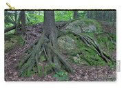 Tree Growing Over A Rock Carry-all Pouch