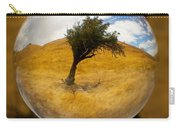 Tree In A Field Through A Glass Eye Carry-all Pouch