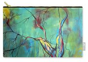 Tree Of Winding Color Carry-all Pouch