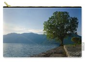 Tree On The Lake Front Carry-all Pouch