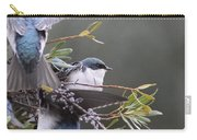 Tree Swallow - Standing Guard Carry-all Pouch