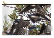 Tree Swallow - All Swallowed Up Carry-all Pouch