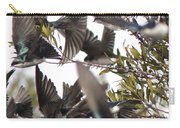 Tree Swallow Frenzy Carry-all Pouch