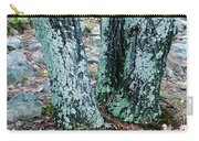 Tree Trio In Lichen At Hawn State Park Carry-all Pouch