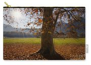 Tree With Autumn Leaves Carry-all Pouch