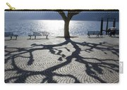 Tree With Shadow Carry-all Pouch