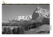 Treeline Across Alpi Di Siusi In The Dolomites Carry-all Pouch